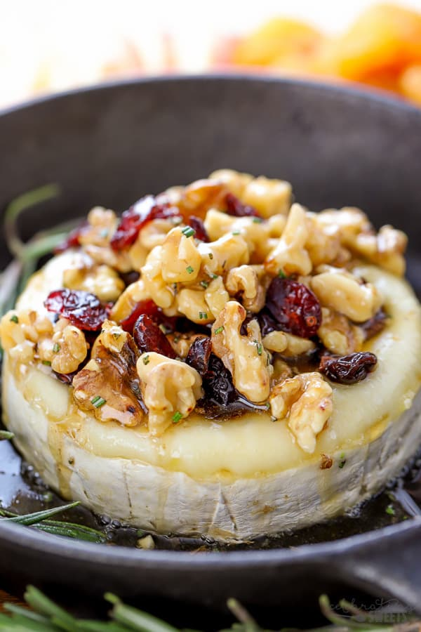 Honey and Walnut Baked Brie